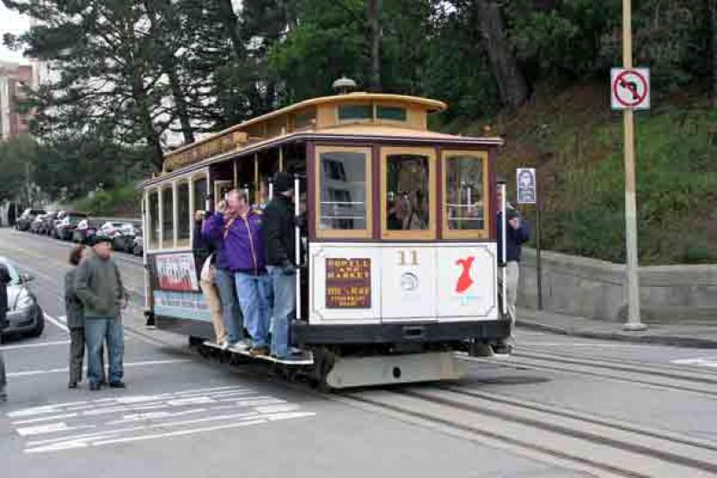 San Francisco Cable Car – Nostalgie pur