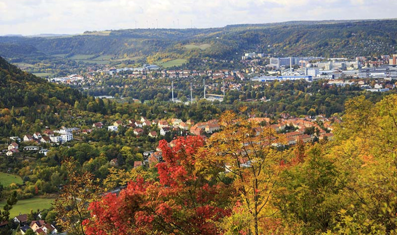 Herbstliches Jena
