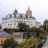 Mittelalterspektakel auf Schloss Wildeck in Sachsen