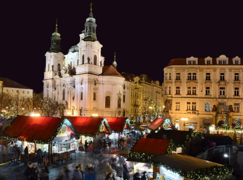 Weihnachtsmarkt Altstädter Ring in Prag