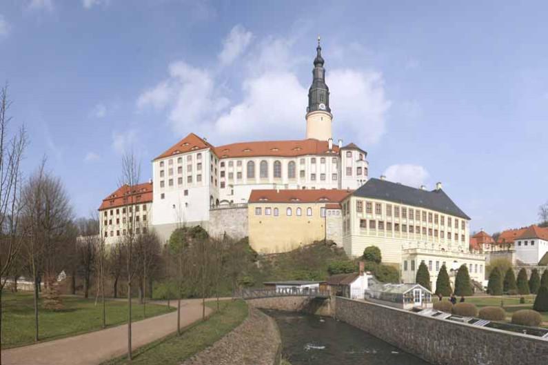 Schlösser in Sachsen