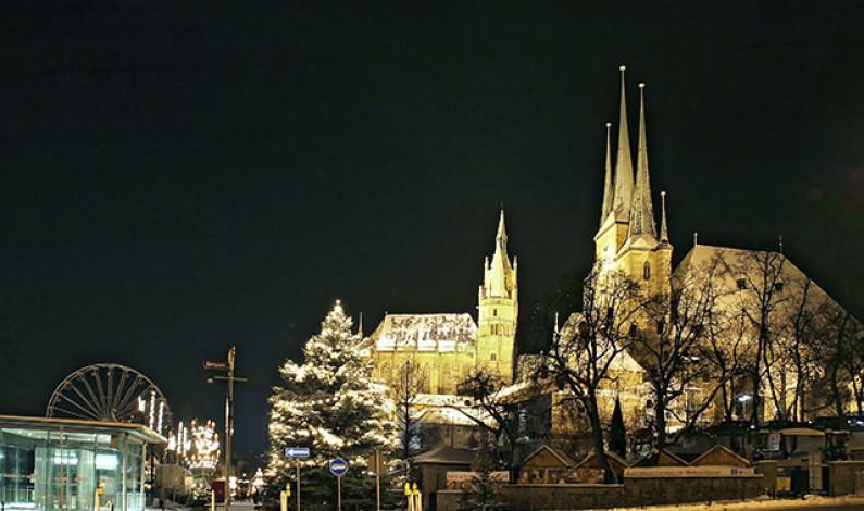 Der Dom von Erfurt